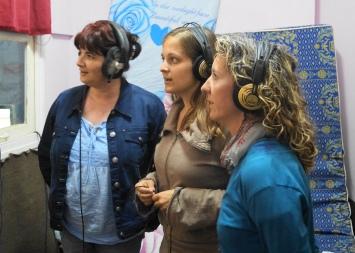 Ana, Nicole y Mar