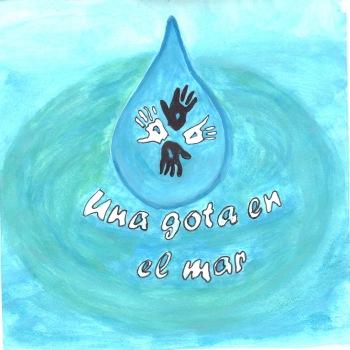 Portada del disco realizada por los niños sordo-mudos del Centro Educativo EFFETAH-Tánger.